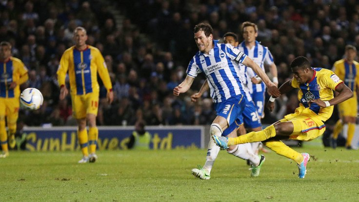 Brighton & Hove Albion v Crystal Palace - npower Football League Championship Play-Off Semi Final Second Leg