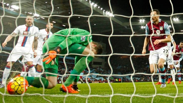 Aston Villa v Crystal Palace - Barclays Premier League