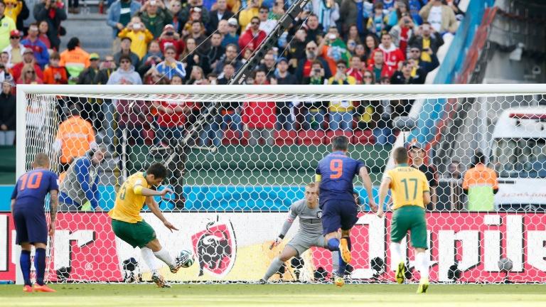 Australia v Netherlands - FIFA World Cup Brazil 2014 - Group B