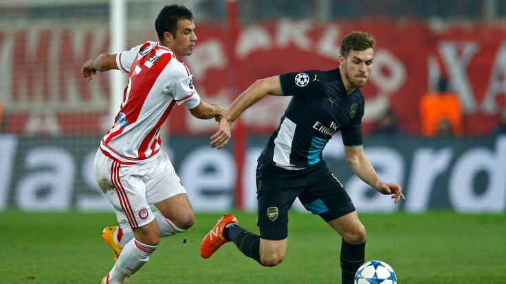 Olympiacos v Arsenal - UEFA Champions League Group Stage - Group F