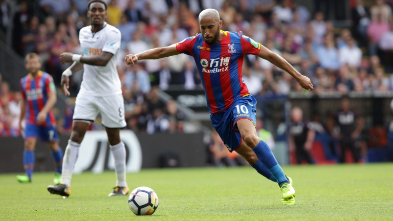 CP v Swansea 26/8/17 Andros Townsend Photo: ©Neil Everitt 07970 789228