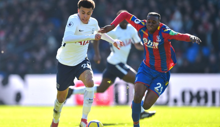 Crystal Palace v Tottenham Hotspur, Premier League, Selhurst Park, London, UK - 25 Feb 2018