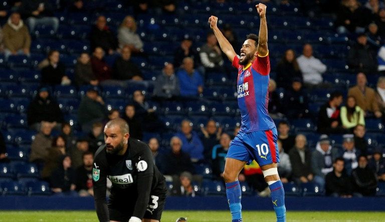 Carabao Cup - Third Round - West Bromwich Albion v Crystal Palace