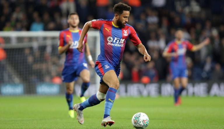WBA v CP 25/9/18 Andros Townsend  Photo: ©Neil Everitt 07970 789228